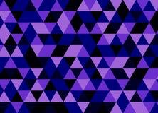 entziehen Sie Hintergrund Violettes Mosaik Lizenzfreie Abbildung