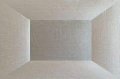 entziehen Sie Hintergrund Weißer Innenraum des leeren Raumes Lizenzfreie Stockbilder
