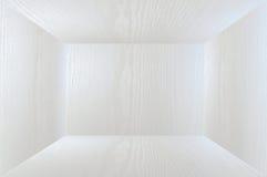 entziehen Sie Hintergrund Weißer Innenraum des leeren Raumes Lizenzfreies Stockbild