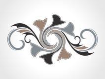 Entziehen Sie kreatives dekoratives Element Lizenzfreies Stockbild