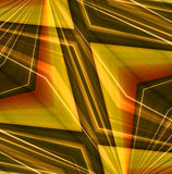 Entziehen Sie linearen Farbenhintergrund. Lizenzfreies Stockbild