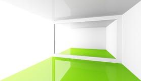 Entziehen Sie minimalen Architekturhintergrund Lizenzfreie Stockbilder