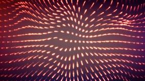 Entziehen Sie Mosaik Glühender Hintergrund Futuristische vektorabbildung Stockfoto