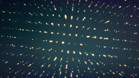 Entziehen Sie Mosaik Glühender Hintergrund Futuristische vektorabbildung Stockfotografie