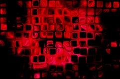 Entziehen Sie roten schwarzen Hintergrund Stockbilder