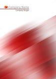 Entziehen Sie roten weichen Hintergrund