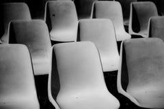 Entziehen Sie Stühle Lizenzfreie Stockbilder