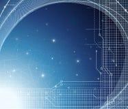 Entziehen Sie Technologiehintergrund Lizenzfreies Stockfoto