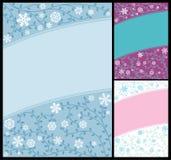 Entziehen Sie Winter-Hintergrund Stockbild