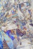 Entzogene gebrochene helle Kunst Stockbild