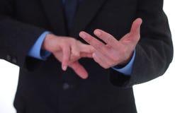 Enumeração com dedos Imagens de Stock