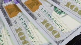 Enumeración de la orden de los billetes de banco almacen de video