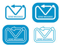 Envíe el mensaje Fotografía de archivo libre de regalías