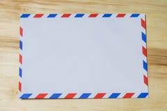 Envíe el sobre por correo aéreo Fotografía de archivo libre de regalías