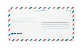 Envíe el sobre por correo aéreo Imágenes de archivo libres de regalías