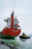 Envíe en el puerto, Kamchatka, Rusia Imagen de archivo