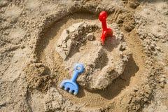 Envíe los juguetes Fotografía de archivo libre de regalías