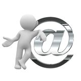 Envíe un correo Imagen de archivo libre de regalías