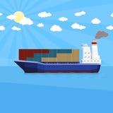 Envío de cargo del mar Imágenes de archivo libres de regalías