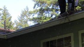 Envío de la pila del tejado metrajes
