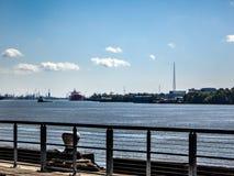 Envío de New Orleans del río Misisipi Fotografía de archivo