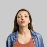 Envío de un beso Imagen de archivo