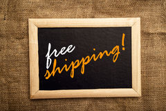 Envío gratis Foto de archivo libre de regalías