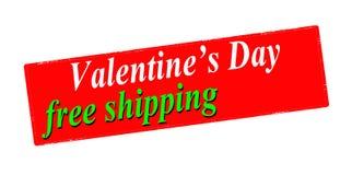 Envío gratis del día de San Valentín libre illustration