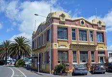 Envío histórico del ancla y edificio de la fundición, Nelson Fotografía de archivo libre de regalías