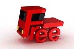 Envío libre Fotos de archivo libres de regalías