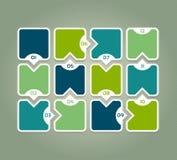 ENV 10 Schablone für Diagramm, Diagramm, vorhanden Lizenzfreie Stockfotografie