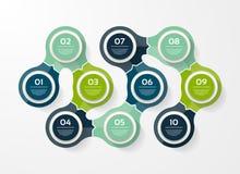 ENV 10 Schablone für Diagramm, Diagramm, vorhanden Lizenzfreie Stockbilder