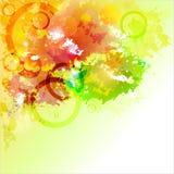 Abstrakter Hintergrund mit Flecken. Stockfotografie
