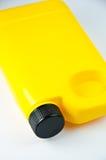 Envase amarillo Imagen de archivo libre de regalías