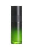 Envase cosmético verde foto de archivo