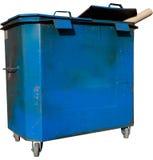 Envase de basura Foto de archivo libre de regalías