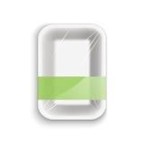 Envase de comida vacío ilustración del vector