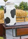 Envase de la leche. Imagen de archivo libre de regalías