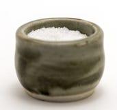 Envase de la sal Imagen de archivo libre de regalías