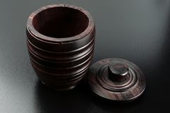Envase de madera Imagen de archivo libre de regalías