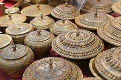 Envase de madera de Paquistán Foto de archivo libre de regalías