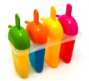 Envase de plástico Imagen de archivo libre de regalías