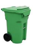 Envase de reciclaje verde imágenes de archivo libres de regalías