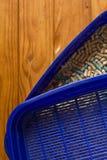 Envase del retrete para el gato Foto de archivo libre de regalías