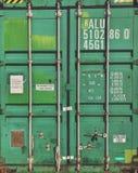 Envase verde fotografía de archivo libre de regalías