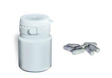 Envase y cápsulas médicos Imagen de archivo