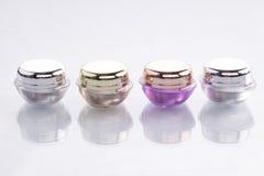 Envases cosméticos Foto de archivo libre de regalías