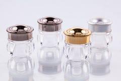 Envases cosméticos Fotos de archivo libres de regalías