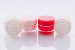 Envases cosméticos Fotografía de archivo