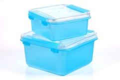 Envases de almacenaje Foto de archivo